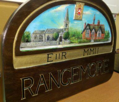 Rangemore Sign