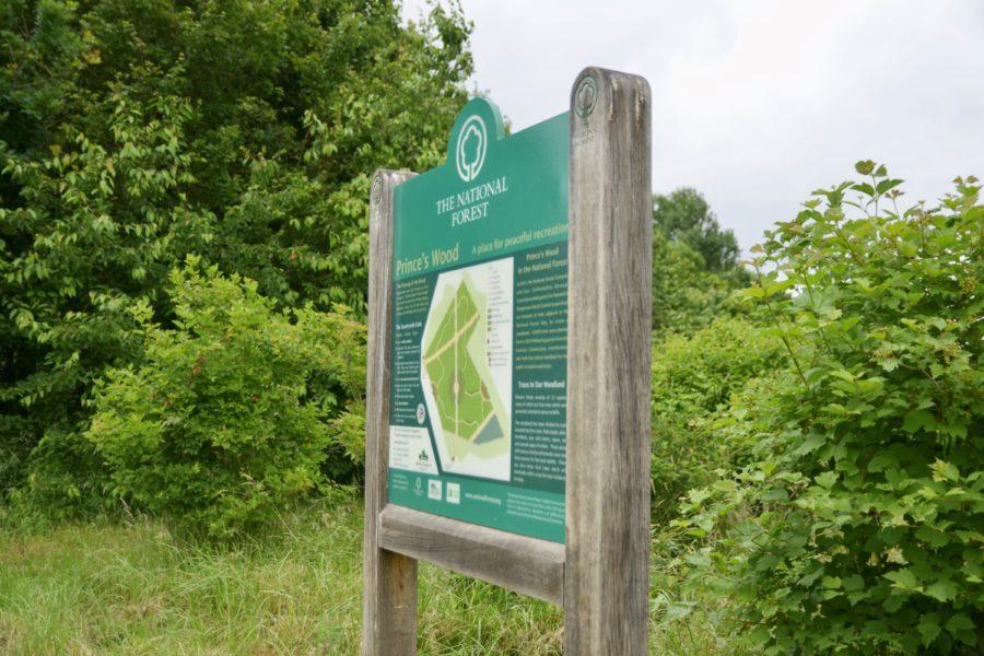 Enhanced Signage At Prince's Wood