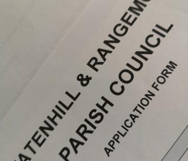 Tatenhill and Rangemore Parish Council Application Form