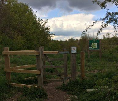 New Gate Panels Prince's Wood