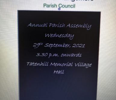 Annual Parish Meeting